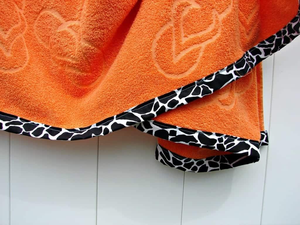 embellished towel