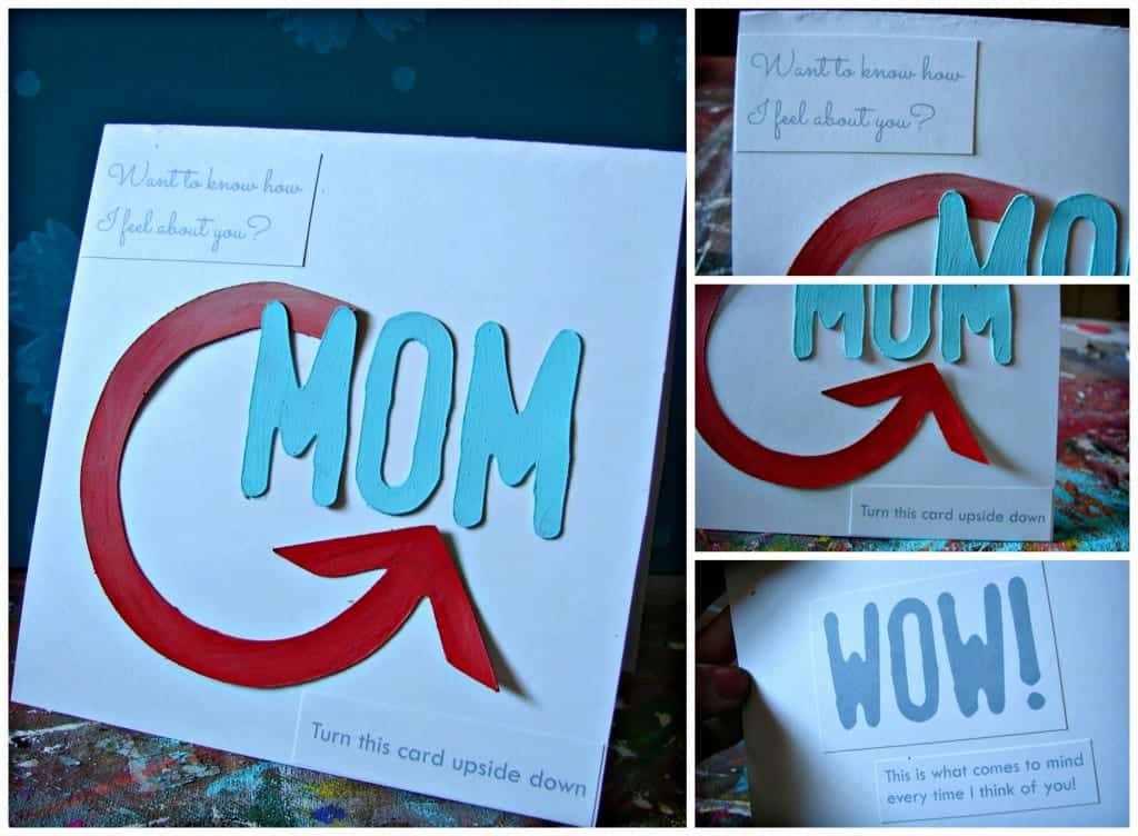 mother's day card wow