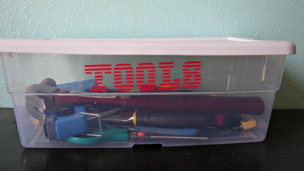 tool bin