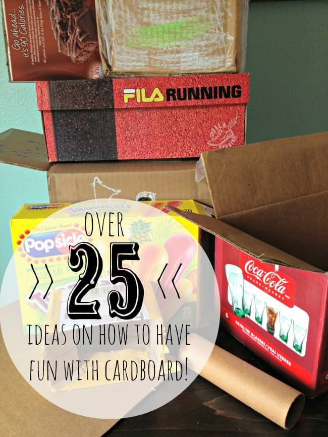 25 ways to have cardboard fun