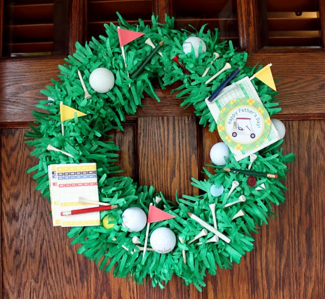 Father's Day Wreath 1