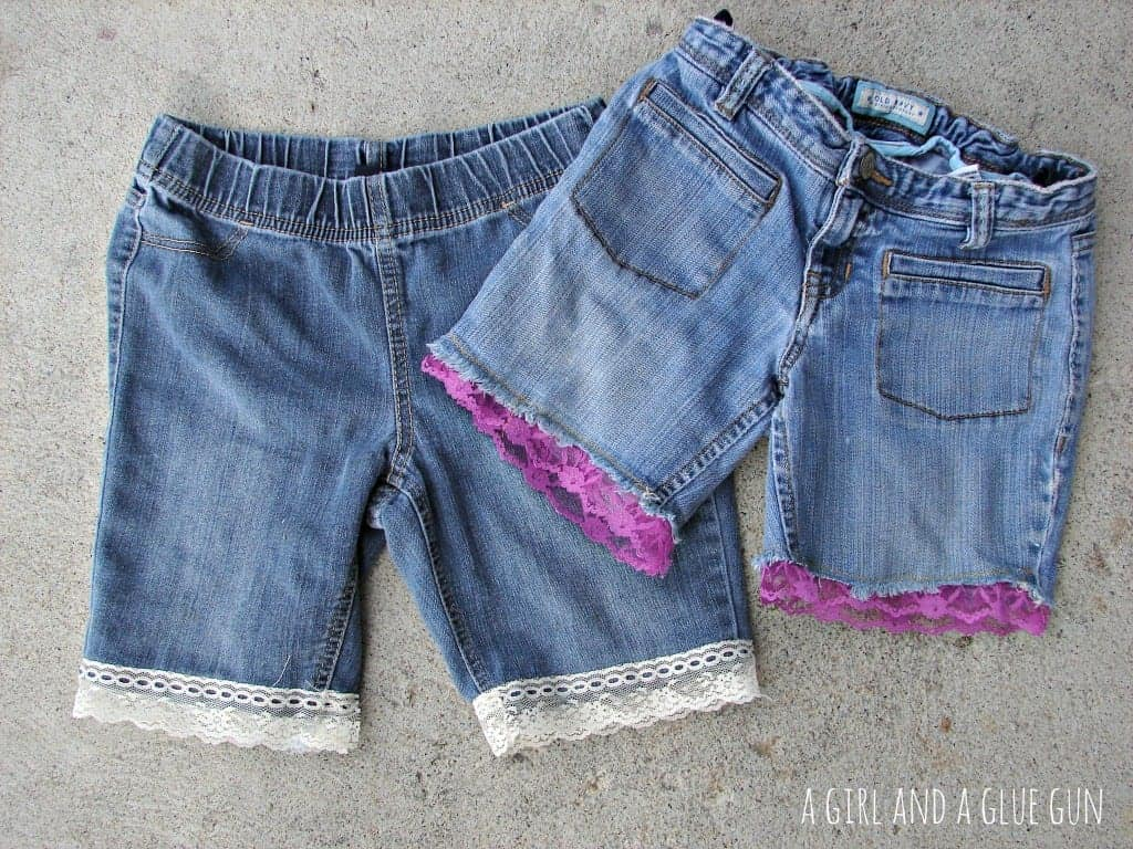 lacy shorts