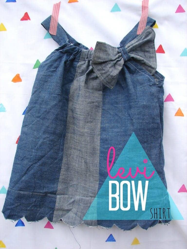 levi bow shirt