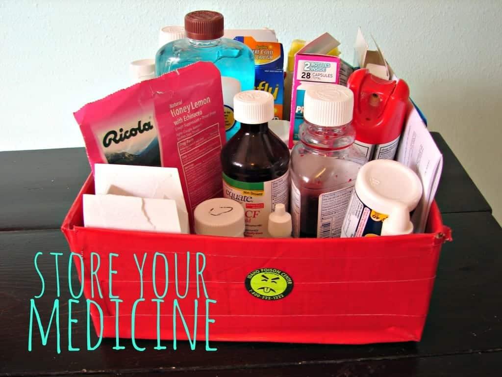 store your medicine
