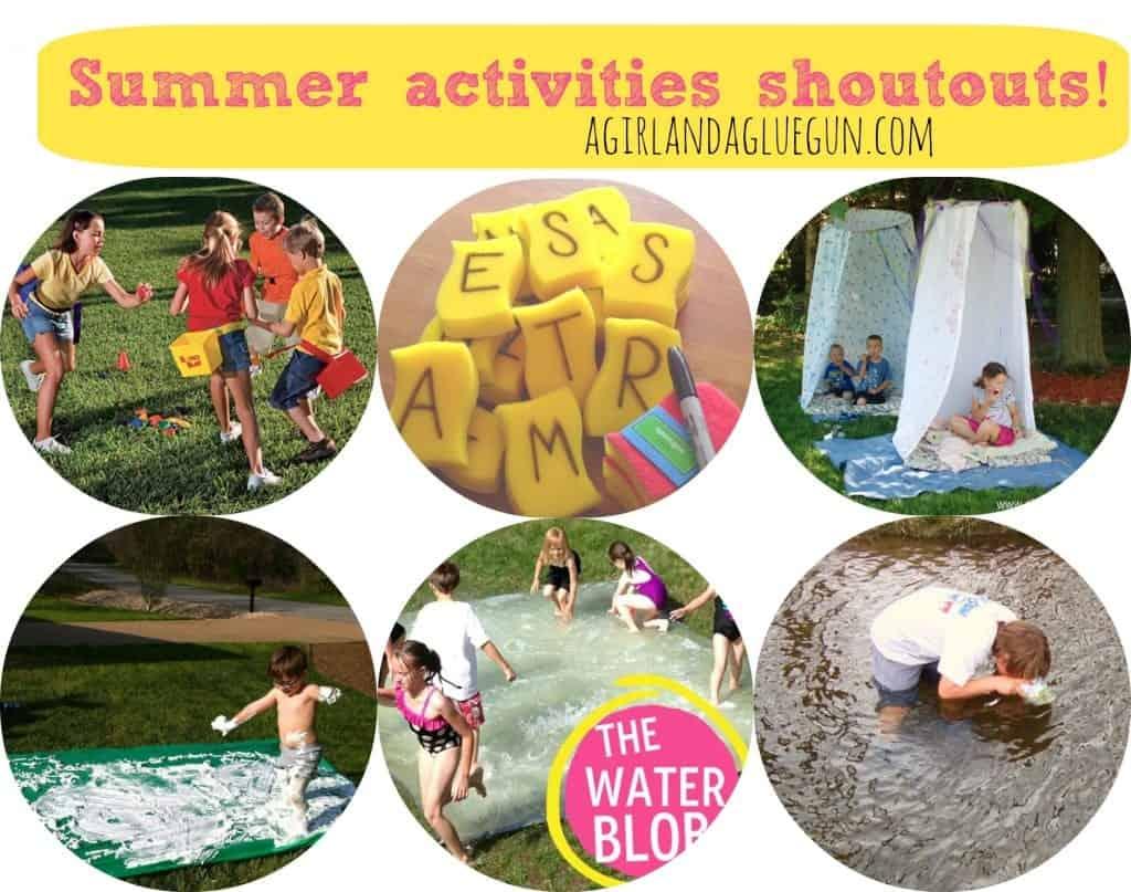 summer activities shoutouts