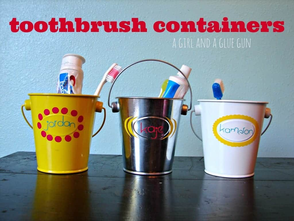 toothbrush containers