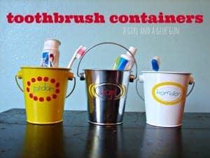 toothbrush organizers