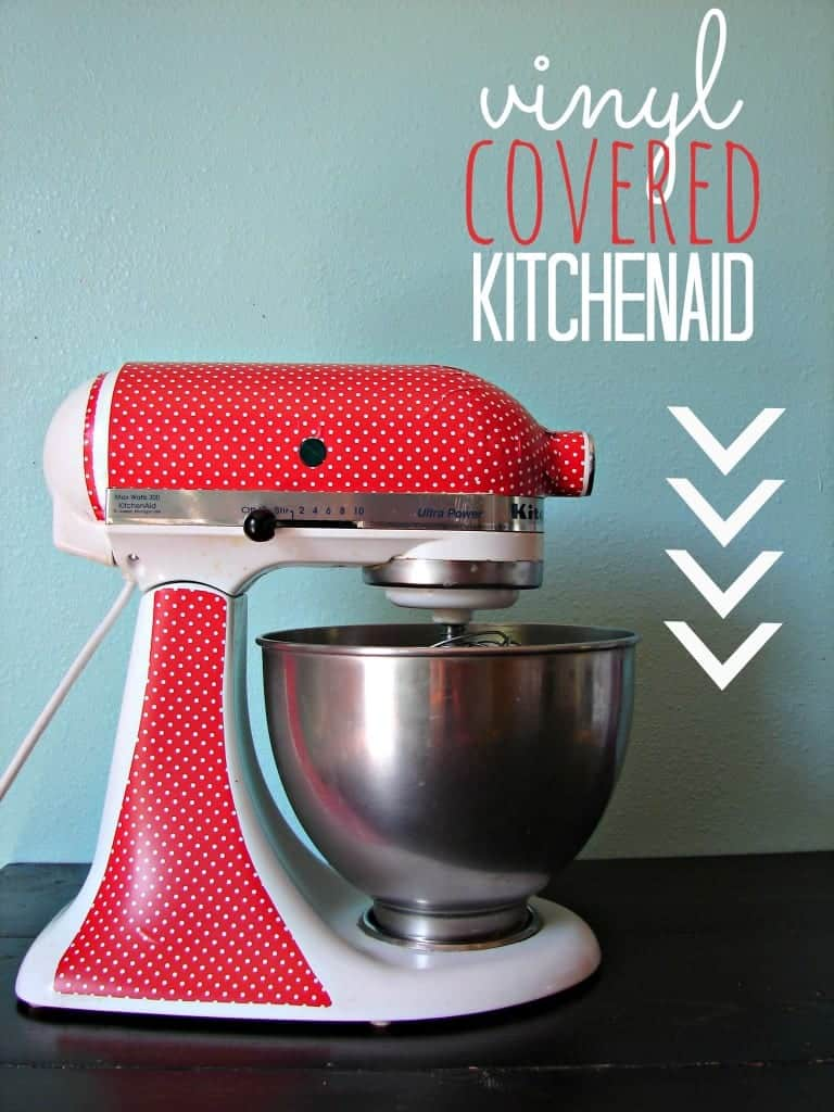vinyl covered kitchenaid