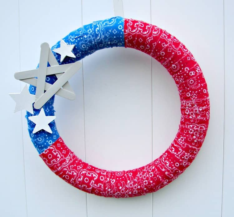 4th of july wreath 3