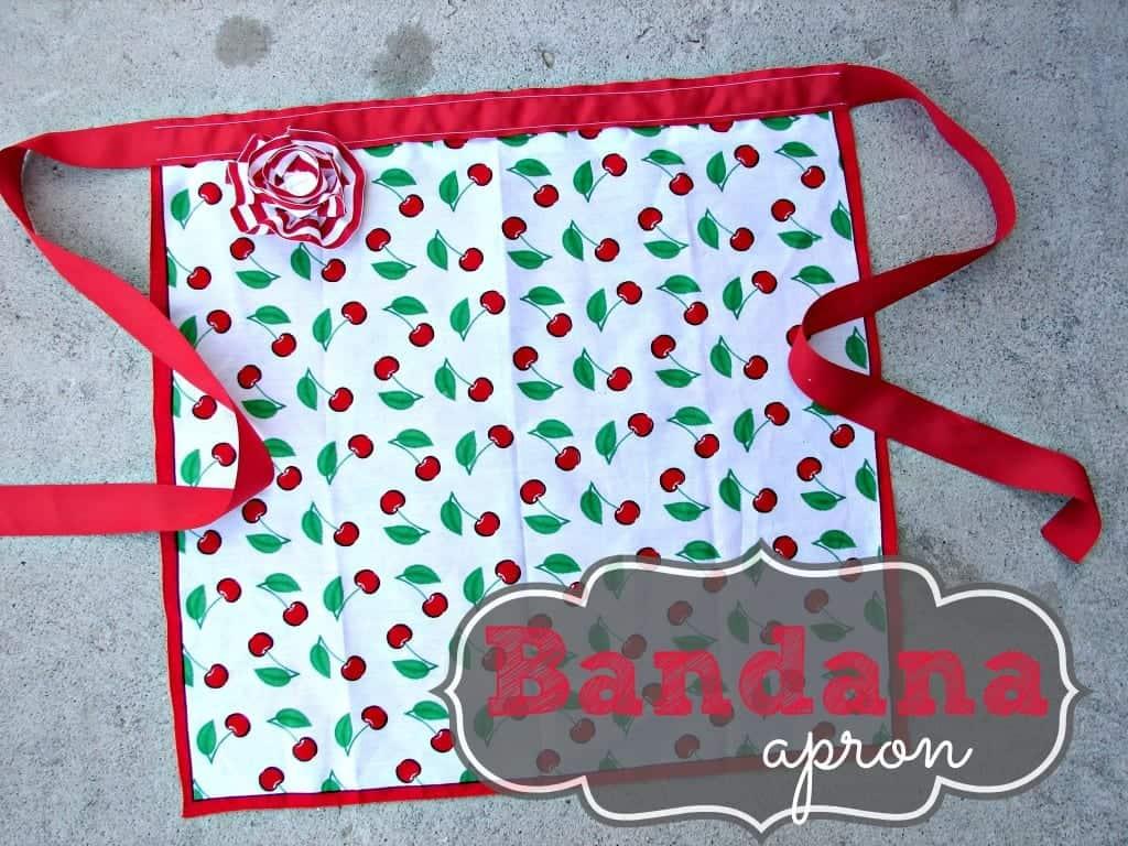 bandana apron