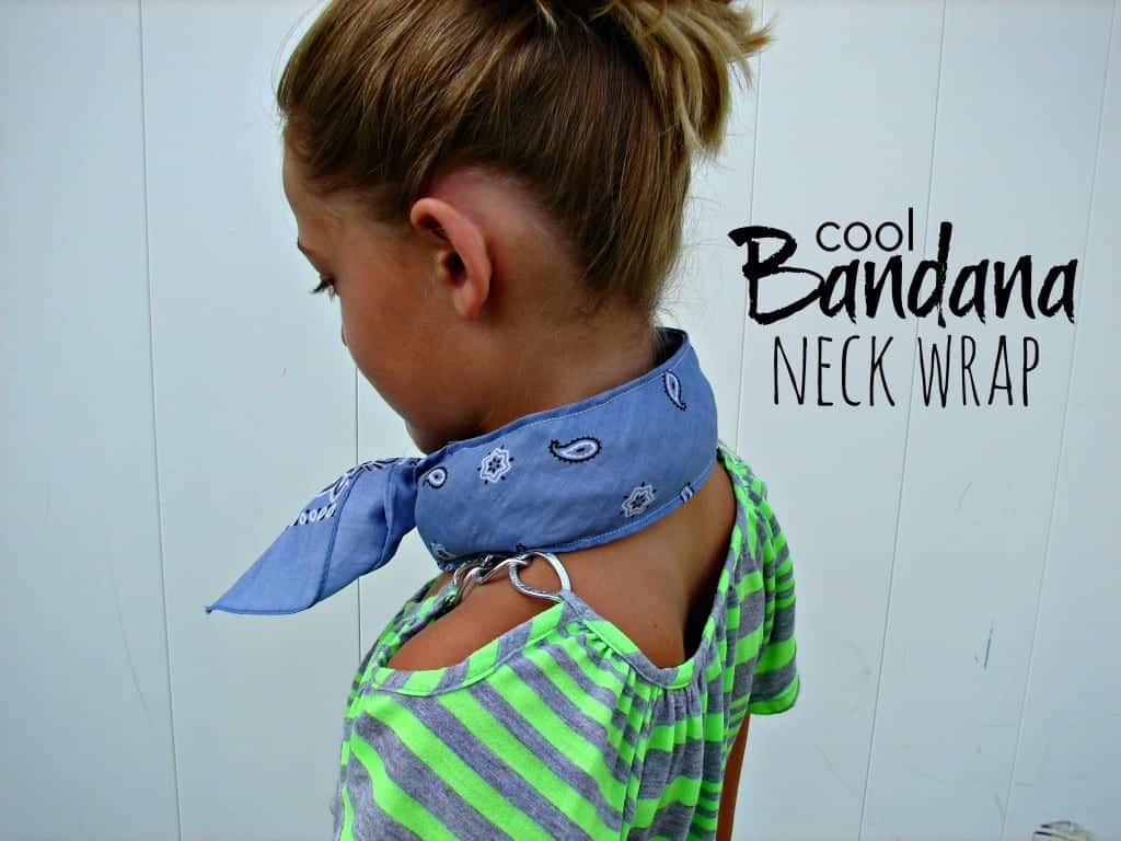 bandana neck wrap