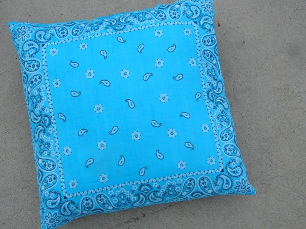 bandana pillow 6