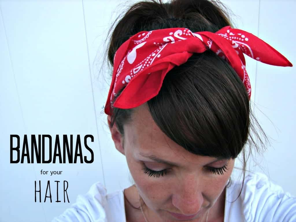 bandanas for your hair
