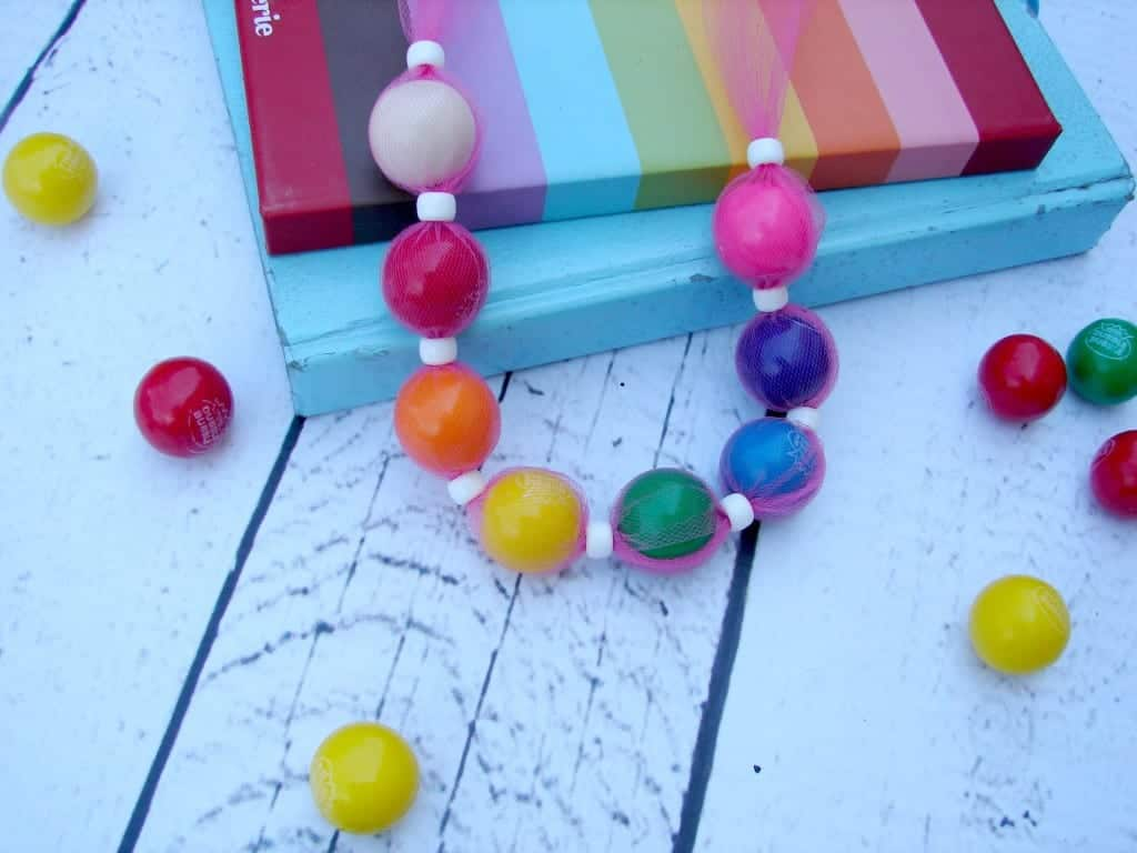 bubblegum necklace