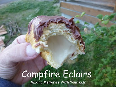 campfire eclairs