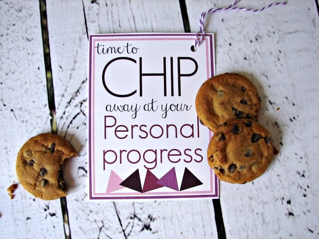 chip away at your personal progress