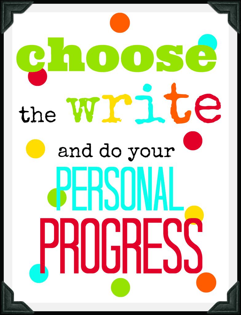 choose the write