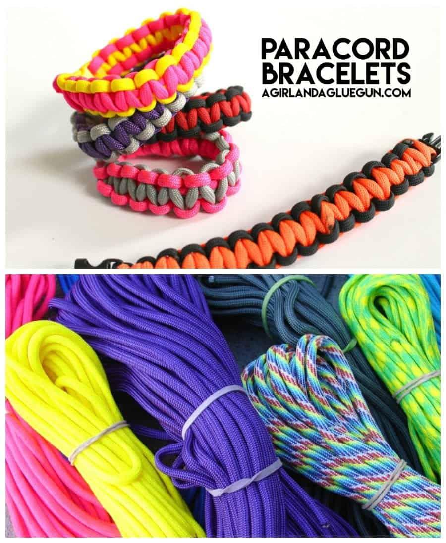 fun paracord bracelets step by step