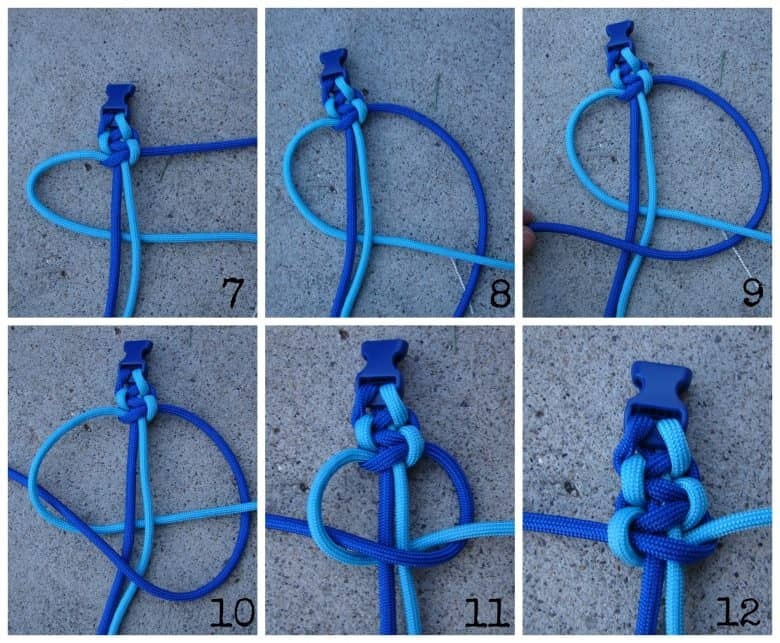 How to make paracord bracelets a girl and a glue gun for How to make a keychain out of paracord