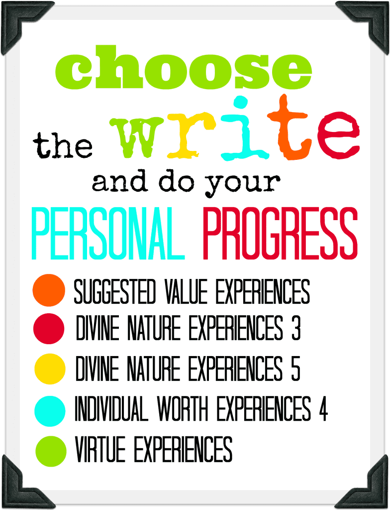 pen personal progress