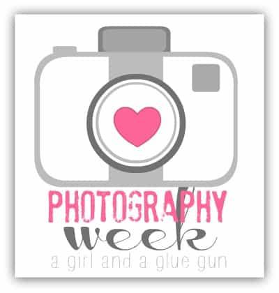 photography week a girl and a glue gun