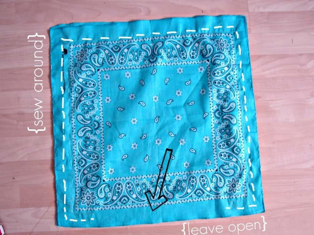 pillowcase bandana
