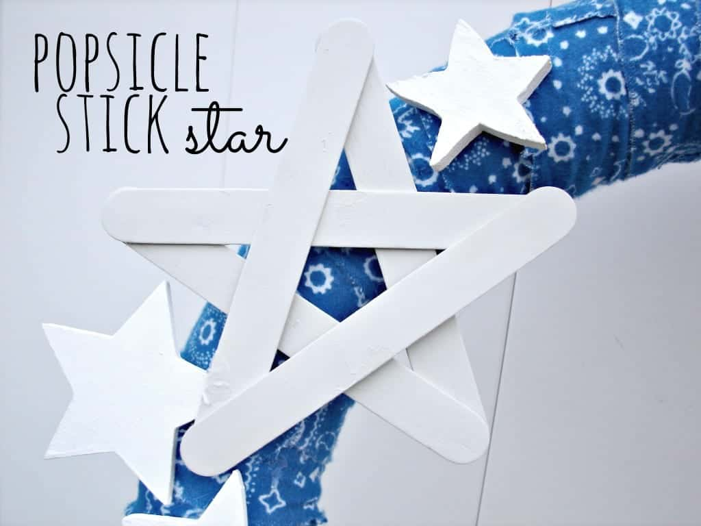 popsicle stick star
