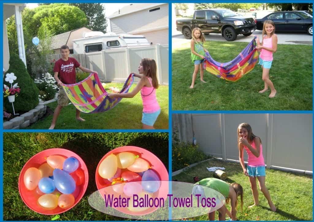 towel toss