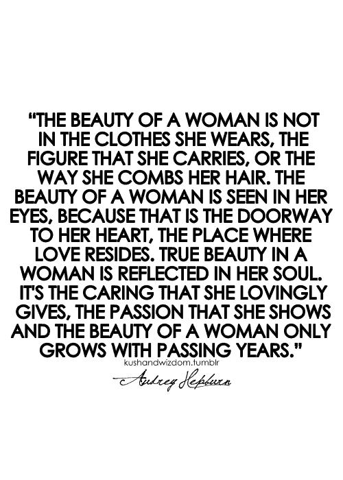 inner beauty quotes audrey hepburn