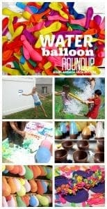 kid craft monday—water balloon summer fun roundup!