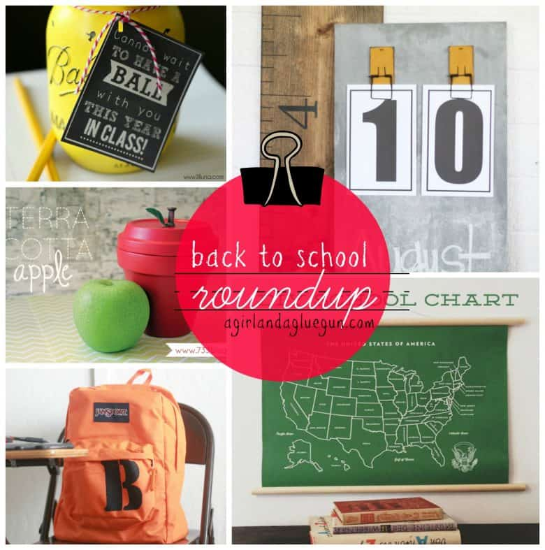sunday shout outs...back to school addition... - A girl and a glue gun