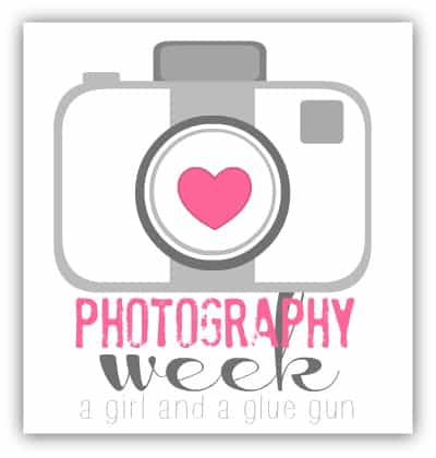 photography week a girl and a glue gun