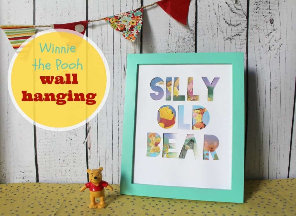 winnie the pooh wall hanging