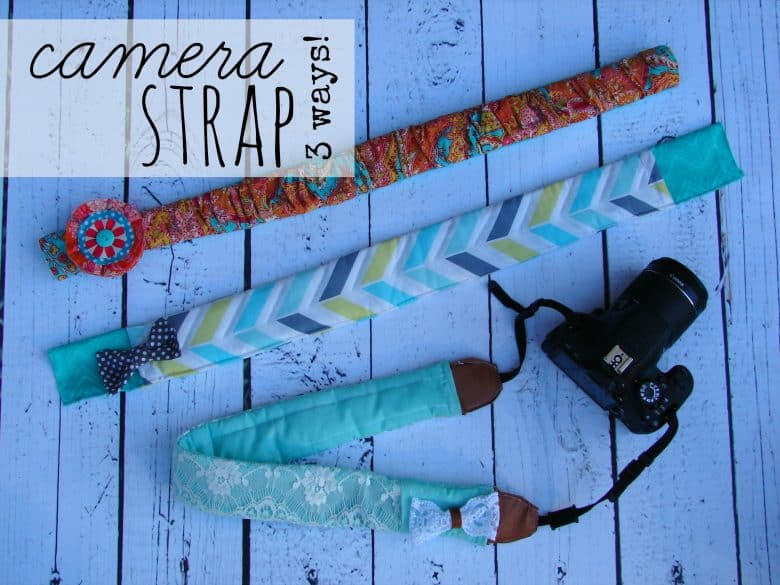 what fun is a camera without a fun camera strap? - A girl and a ...