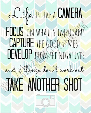 life is like a camera resized