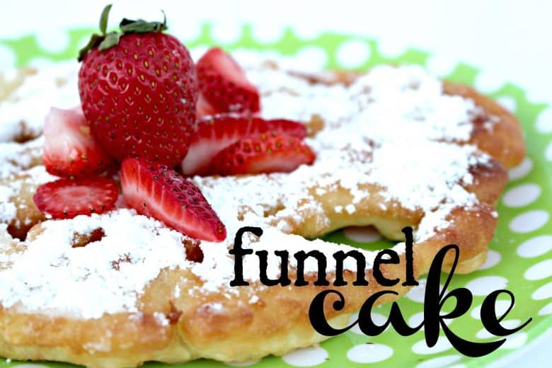 food friday -funnel cake - A girl and a glue gun