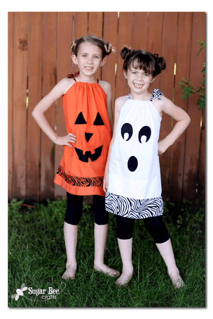 Halloween pillowcase dresses for girls copy