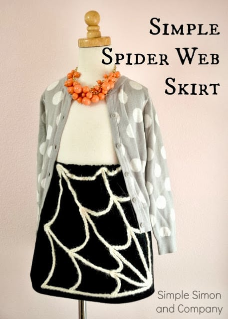 Spider Web Skirt Tutorial photo