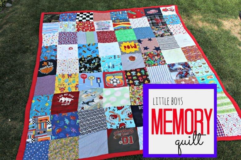 Baby Boys Memory Blanket A Girl And A Glue Gun