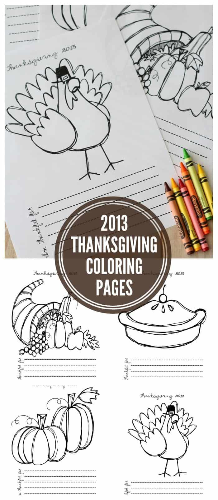 thanksgiving kid printables! - A girl and a glue gun