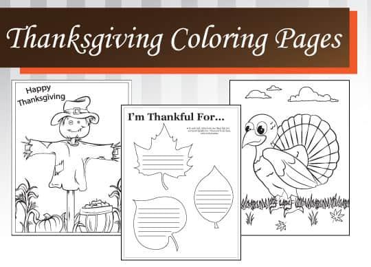 Thanksgiving Kid Printables A Girl And A Glue Gun