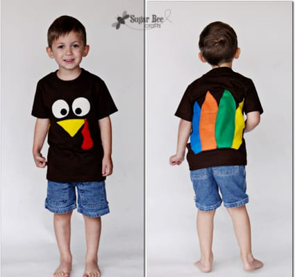 boy turkey shirt