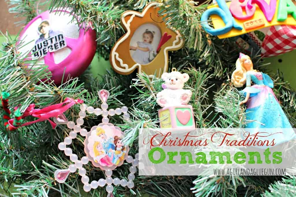 christmas ornaments tradition! - A girl and a glue gun