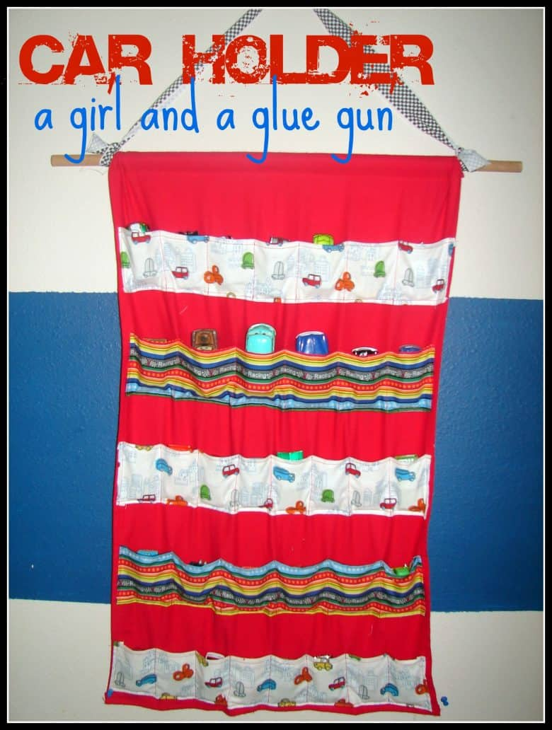 Sew A Toy Car Holder : Crafts to make for you kids christmas a girl and