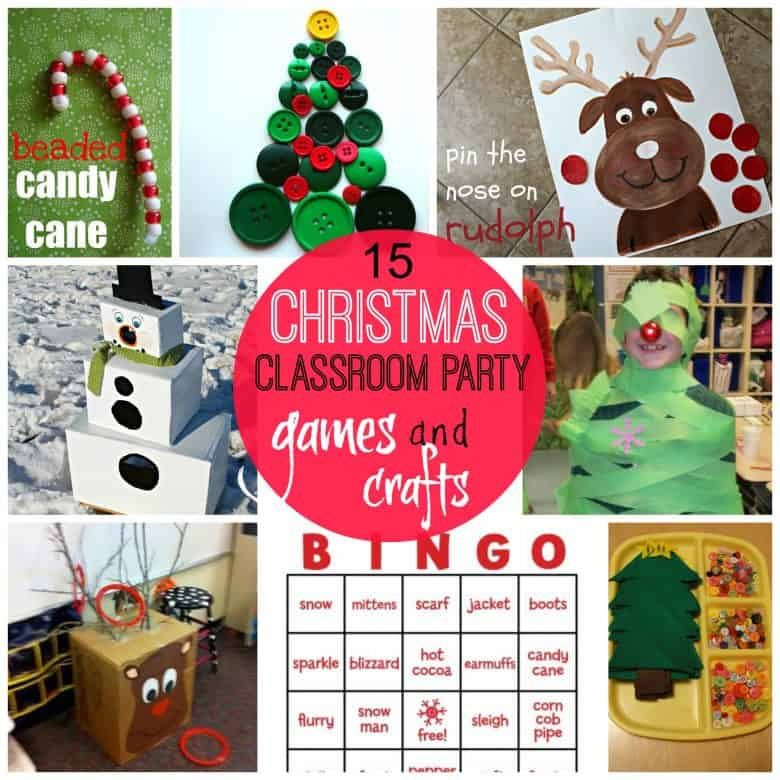 Classroom Birthday Party ~ Games for christmas classroom parties a girl and glue gun