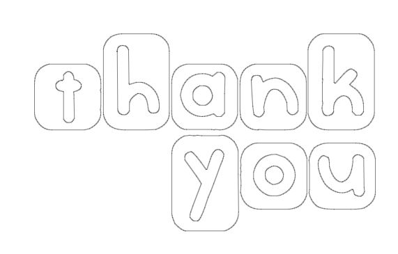 coloring pages thank you card - photo#13