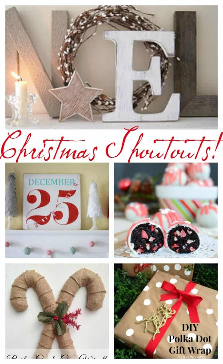 shout out sunday christmas edition! - A girl and a glue gun