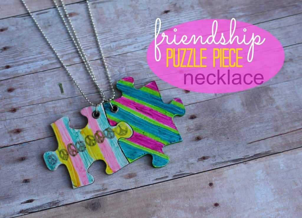 friendship puzzle piece necklace