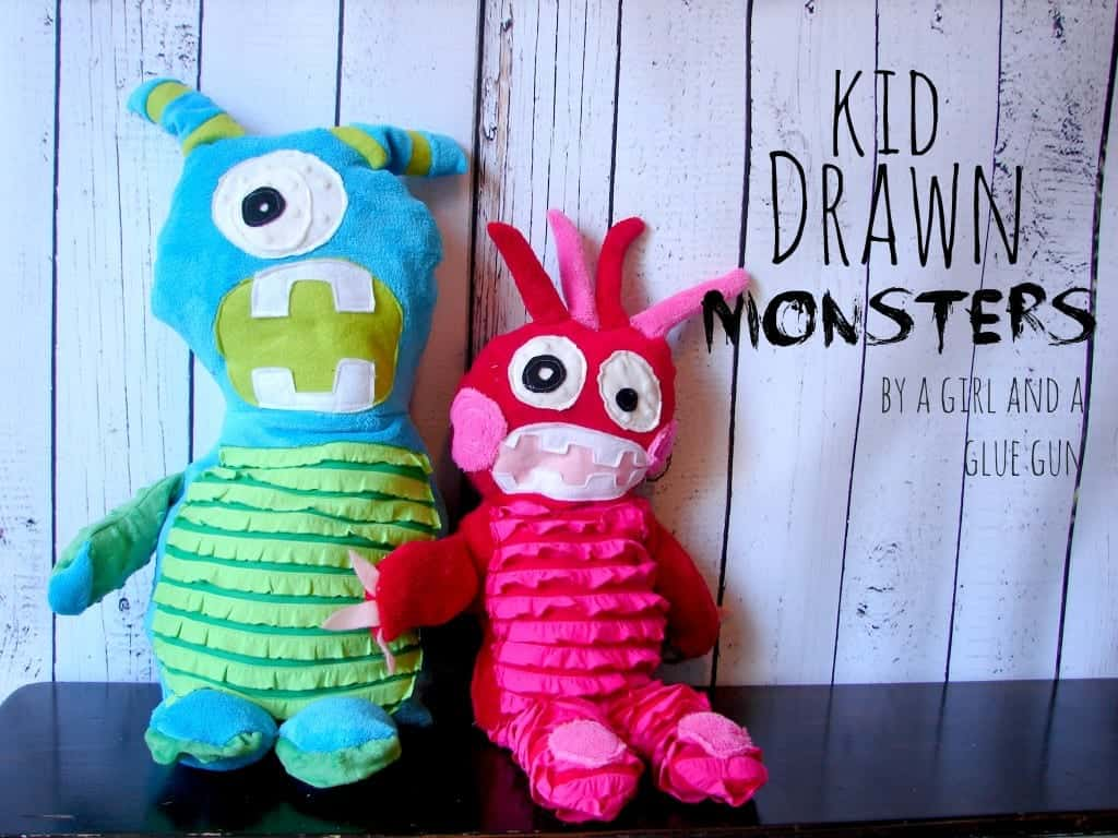 kid drawn monsters