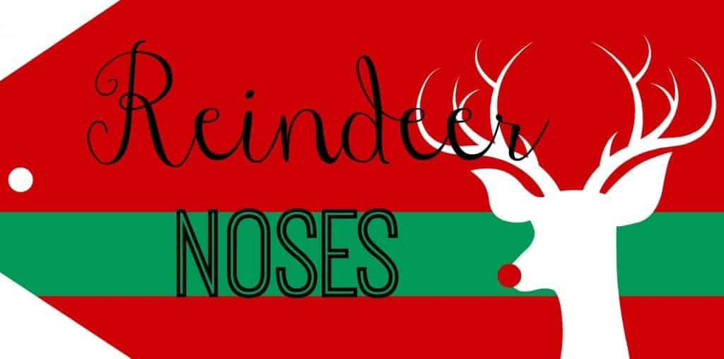 reindeer noses....and poop. cause i'm young at heart. printables! - A ...